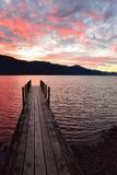 汉米尔顿湖,尼尔森湖国家公园,塔斯曼,新西兰 库存图片
