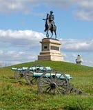 汉考克将军在葛底斯堡 库存图片