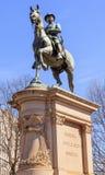 汉考克雕象南北战争纪念华盛顿特区 免版税库存照片