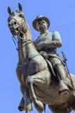 汉考克Statue南北战争将军纪念品 库存照片
