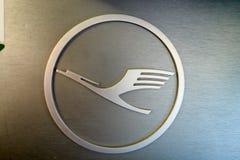 汉莎航空公司商标 库存照片