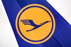 汉莎航空公司商标 图库摄影