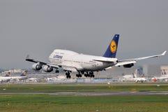 汉莎航空公司庞然大物 库存照片