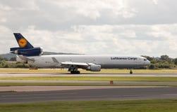 汉莎航空公司货物MD-11 免版税图库摄影