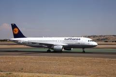 汉莎航空公司 免版税图库摄影