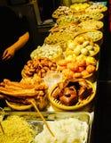 汉语在竹火轮的蒸的饺子 图库摄影
