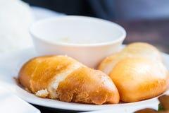 汉语油煎的小圆面包 免版税库存照片