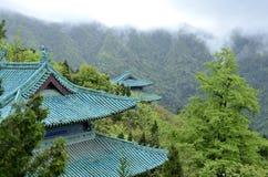 汉语湖北武当山 免版税图库摄影