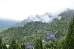 汉语湖北武当山 免版税库存照片