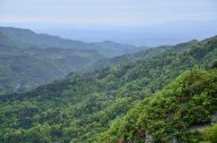 汉语湖北武当山 库存图片
