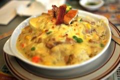 汉语烘烤米 库存图片