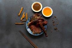 汉语烤鸭子 免版税库存图片