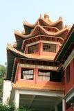 汉语的大厦 免版税库存照片