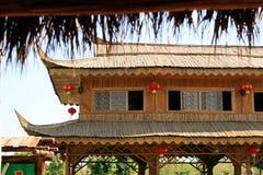 汉语的大厦 库存图片