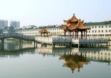 汉语的大厦 免版税库存图片