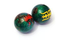 汉语的球 免版税库存图片