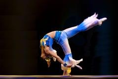 汉语跳舞现代兰花剑 库存图片