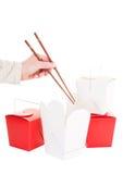汉语采取 免版税库存照片