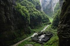 汉语重庆 免版税库存照片