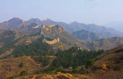 汉语金山岭长城 库存照片