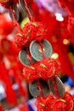 汉语铸造节日灯笼 免版税图库摄影