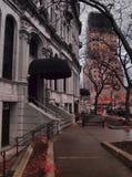 汉诺威广场边路 免版税库存照片