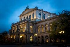 汉诺威歌剧 库存图片