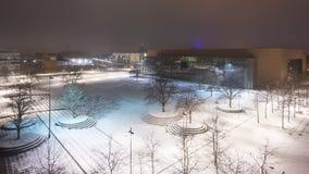 汉诺威集市场所的商展广场,最大的陈列在世界上研了 库存图片