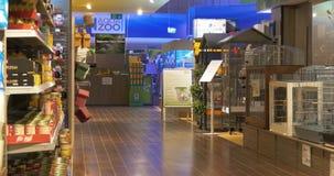 汉诺威,德国- 2018年3月12日:汉诺威汉诺威购物走道的兆动物园宠物商店 股票视频