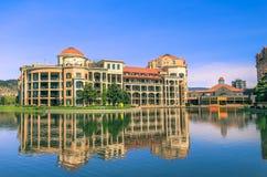 江边旅馆在基隆拿 免版税库存图片