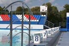 池体育运动 库存照片