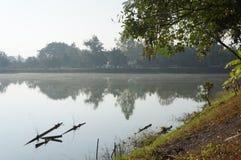 水池地方在Chiangmai 免版税库存照片