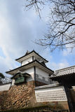 今池城堡塔是观光今池 图库摄影