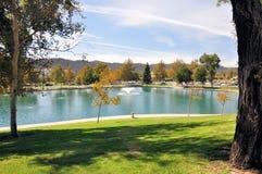 池塘在Temecula 库存图片
