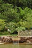 池塘重新创建 免版税图库摄影