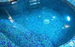 池小的游泳 图库摄影