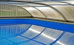 池屋顶游泳 免版税图库摄影