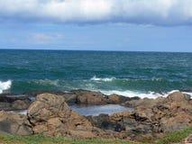 池岩石海运 免版税图库摄影