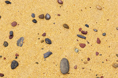 池岩石 免版税库存图片