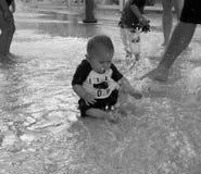 水池时间 免版税库存照片