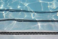 池步骤 免版税图库摄影