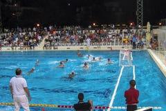 水池比赛 免版税库存图片