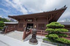 池氏林女修道院,唐朝样式寺庙,香港 图库摄影