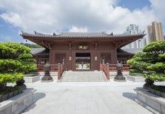 池氏林女修道院,唐朝样式寺庙,香港 免版税库存图片