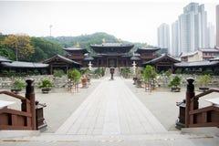 池氏林女修道院,香港,中国 免版税库存图片