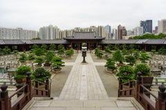 池氏林女修道院- Diamon小山,香港 免版税库存图片