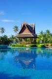 池游泳泰国 免版税库存图片