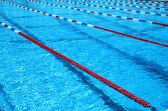 池游泳 图库摄影