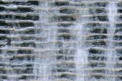 水从水池溢出 库存图片