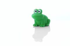 池蛙children& x27; s玩具 库存照片